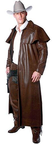 UNDERWRAPS Costumes Herren Cowboy Kostüm - Duster Mantel - Mehrfarbig - XX-Large