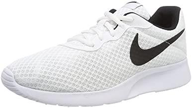 Nike Men's Tanjun Running Sneaker White/Black 11.5