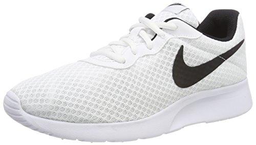 Nike Tanjun, Zapatillas de Running para Hombre, Blanco (White/Black 101), 44 EU