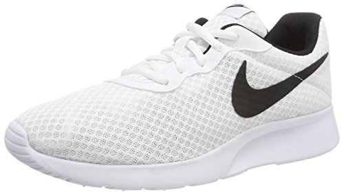 Nike Tanjun', Baskets Homme, Blanc (White/Black), 42 EU