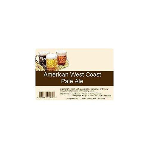 American West Coast Pale Ale All Grain Advanced Homebrew Beer Ingredient Kit