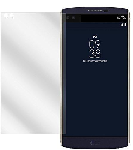 dipos I 6X Schutzfolie klar kompatibel mit LG V10 Folie Bildschirmschutzfolie