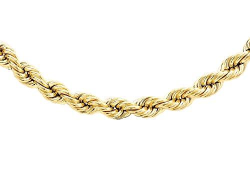 Carissima Gold Kordelkette 9 Karat 375er Gelbgold Hohle 51cm 1.12.0245