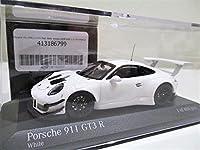 1/43 Minichamps 911 (991) GT3 R Plain Body Version 2018 White