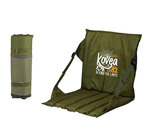Kovea Sillas de meditación, sillas de Yoga, Ligeras, giratorias, con ángulo Ajustable, portátil, cómodas, 16 x 16 Pulgadas