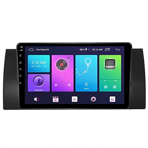 WHL.HH para B M W 5 Serie E38 E39 E53 X5 Androide 9.0 Doble Estruendo 9 Pulgadas Auto Radio Video Multimedia Jugador GPS Navegación Estéreo Auto Cabeza Unidad Apoyo SWC,WiFi:1+16G