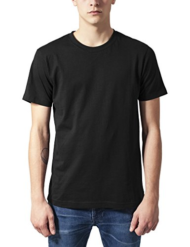 Urban Classics Herren Basic Tee T-Shirt, Black, XXL