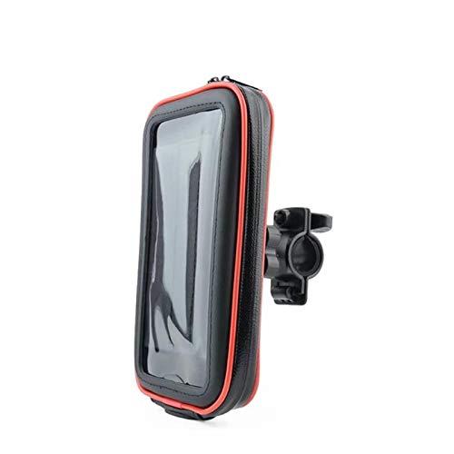 TIANkuo Teléfono móvil Pantalla táctil Protector Bolsa de Cobertura Motocicleta Porta teléfono móvil,
