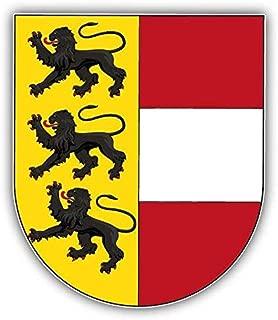 Venu67Hol Carinthia City Coat of Arms Austria Home Decal Vinyl Sticker 4 X 5 inches