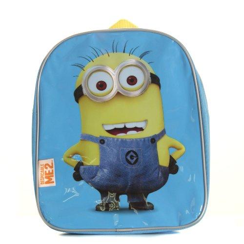 DESPICABLE ME Me 2 31043 - Mochila Escolar GRU, Mi Villano Favorito (Posh Paws 31043) - Mochila Infantil Minion Uno 30 cm