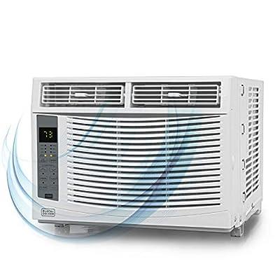 BLACK+DECKER BWAC06WTB 6000 BTU window air conditioner, White