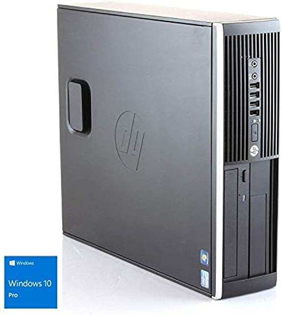 Hp Elite 8300 - Ordenador de sobremesa (Intel Core i5-3470 8GB de RAM Disco HDD de 500GB Lector DVD Windows 10 PRO ES 64) - Negro (Reacondicionado)