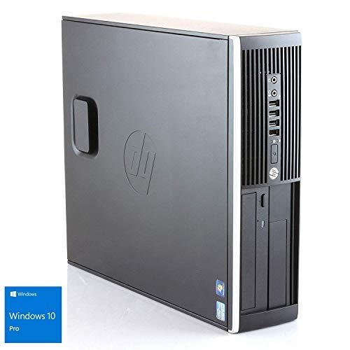 Ordenador de sobremesa HP 8300 SFF (Intel Core i5-3470 @ 3,2GHz (Quad Core), Memoria 8GB, Disco Duro de 500HDD DVD, WINDOWS 10 PRO ES 64) Tarjeta grafica Intel Graphics HD, Sonido High DEF Audio, Tarjeta de RED - LAN: Gigabit Ethernet, Expansion: (1)...