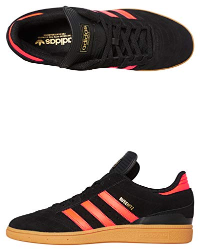 adidas Skateboarding Busenitz, Core Black-Solar Red-Gum, 10,5