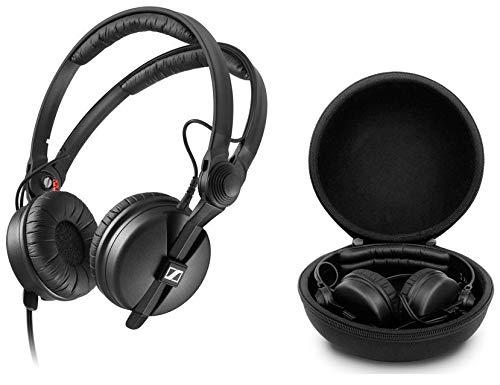 Sennheiser HD 25 Auricular DJ Profesional con Funda Case Transporte EVA
