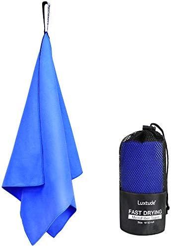 Luxtude Microfiber Towel 32 x16 Super Absorbent Gym Towel Sweat Towel Ultra Soft Golf Towel product image