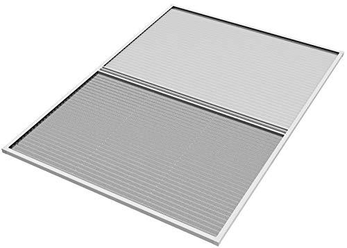 WIP Insektenschutz und Sonnenschutz-Plissee für Dachfenster 113x160cm weiß