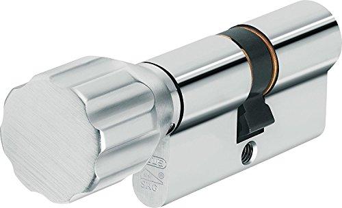 ABUS Profilzylinder KXP20S Z30/K30 mit Knauf, 73937