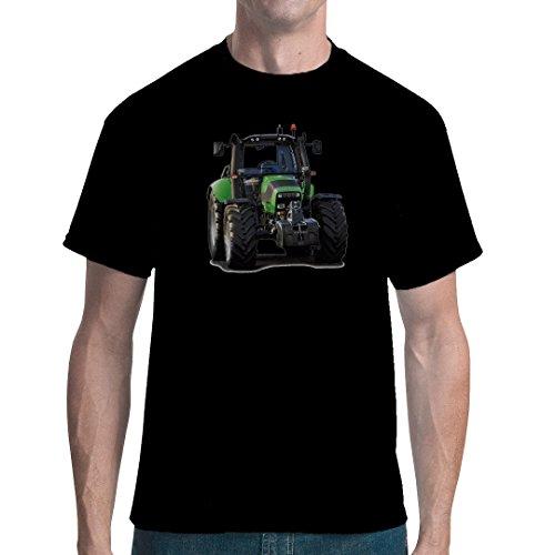 Im-Shirt Traktoren Unisex T Traktor: Deutz Fahr 6120.4 by Schwarz XL