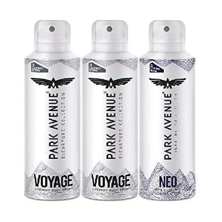 Park Avenue Super Saver Pack Buy 2 Get 1 Free(2 Voyage + 1 NEO) 348g/450ml
