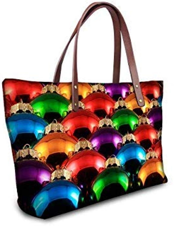Bloomerang FORUDESIGNS Christmas Ball Women Shoulder Bag Luxury Women Messenger Bags Fashion Women Casual Travel Tote Handbags Baobao color HB0085AL