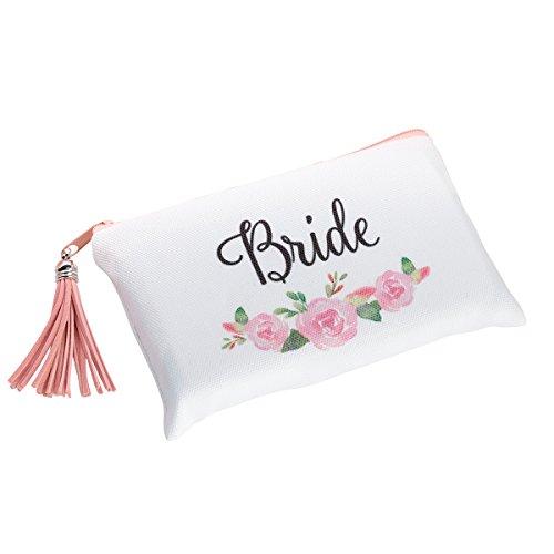 Lillian Rose Watercolor Floral Bride Survival Tasche