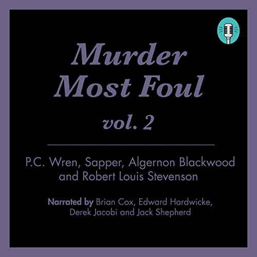 Murder Most Foul, Volume 2 cover art
