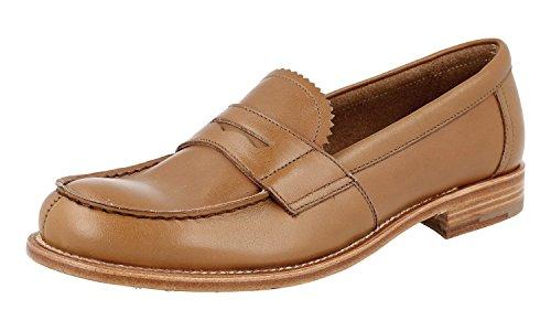 Prada Damen Braun Leder Business Schuhe 1D836E 37 EU