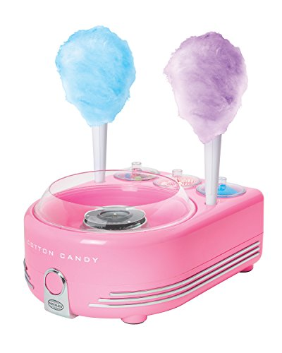 Nostalgia Hard & Sugar-Free Candy, Deluxe Cotton Candy Maker