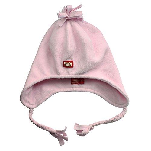 TICKET tO hEAVEN rOSINE-bonnet à capuche en polaire pour fille rose