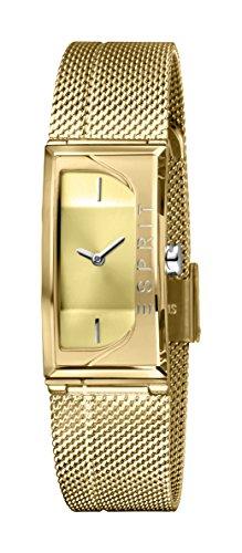 Esprit Damen Analog Quarz Uhr mit Edelstahl Armband ES1L015M0025