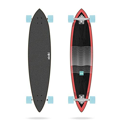 Aloiki Off Shore Pintail Complete Skateboard, 101,6 x 24,6 cm, Erwachsene, Unisex, Mehrfarbig, 101,6 cm