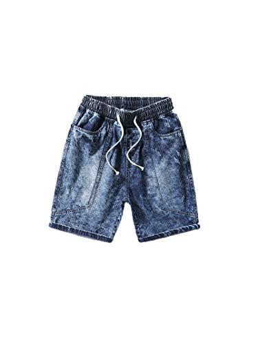 Moda Verano Pantalones Vaqueros Pantalones Casuales Hombres de Mezclilla