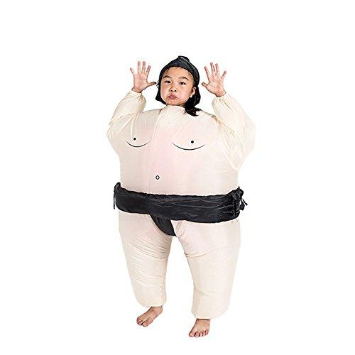 Inflables Disfraz de Sumo hinchaple Ninos Traje Vestido Inflatable Costume Suit para Fiesta Halloween