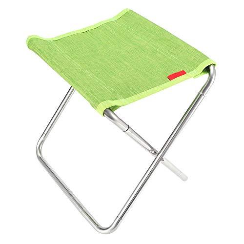 Camping Hocker Tragbar Klappstuhl Leicht Klappbarer Stuhl Zusammenklappbar Grillstuhl mit Aufbewahrungstasche füR Das Reisen Angeln Draussen Wandern BBQ Garten