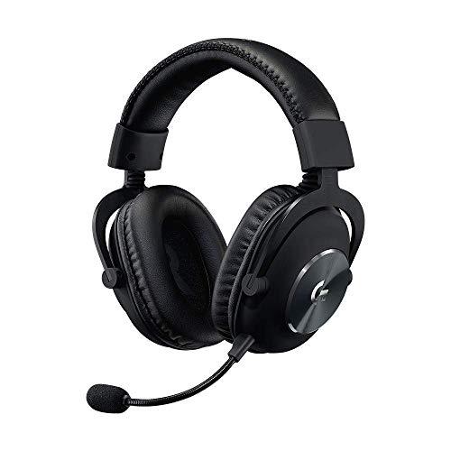 Logitech G PRO X - Auriculares para Gaming con Blue VO!CE, USB, Negro (Reacondicionado)