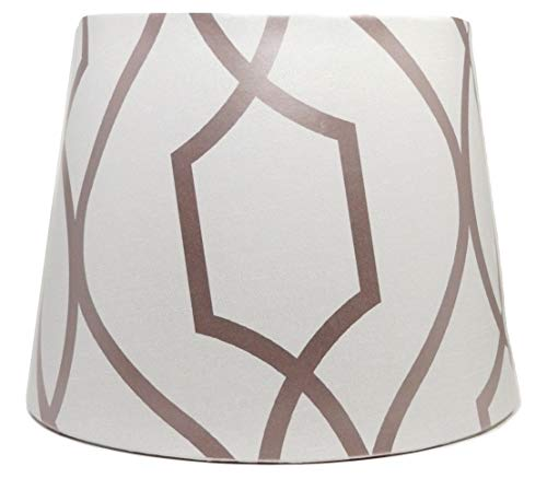 Geometric Lampshade Ceiling Light Shade Apex Trellis Rose Gold