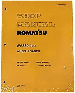 Komatsu WA380-1LC Wheel Loader Workshop Repair Service Manual - Part Number # CEBDW23030