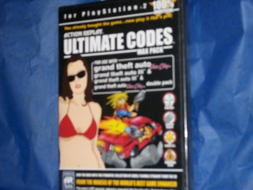 Action Replay Ultimate Codes Max Pack Playstation 2