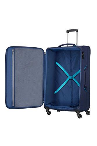 American Tourister Holiday Heat - Spinner Valise, 79.5 cm, 108 L, Bleu (Navy)