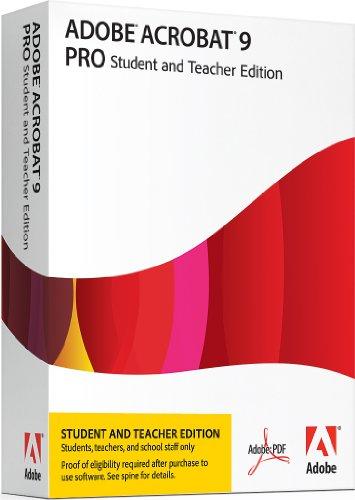 Adobe Acrobat Professional Pro 9.0 - Autoedición (2181 MB, 256 MB, 1.3GHz, ENG)