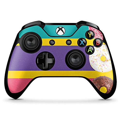 DeinDesign Skin kompatibel mit Microsoft Xbox One X Controller Aufkleber Folie Sticker Donuts Sweets Bonbon