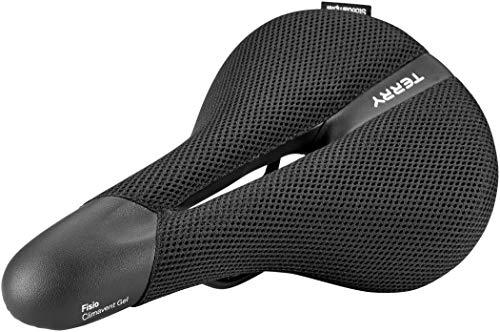 TERRY Fisio Climavent Gel Comfort Herren Trekking Fahrrad Sattel schwarz