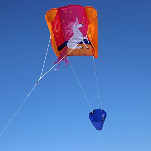 Wolkenstürmer Sled Sunny Kinderdrachen - 1-Leiner Kite ohne Gestänge