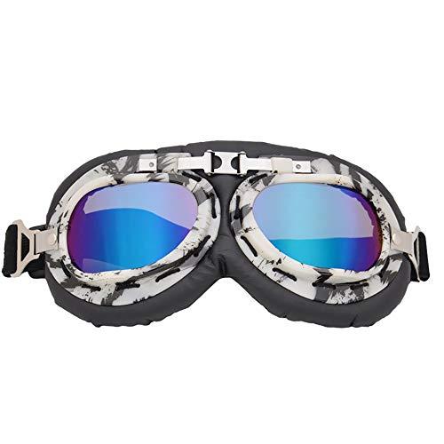 QXFJ Cycling Sunglasses Gafas de Ciclismo graduadas Gafas De Harley Vintage Lente...