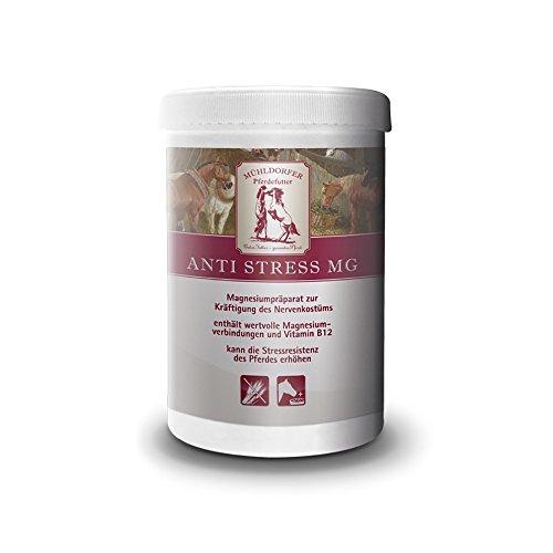 Mühldorfer Anti Stress Mg, 0,75 kg, kräftigt das Nervenkostüm, erhöht die Stressresistenz, Ergänzungsfutter für alle Pferde und Ponys