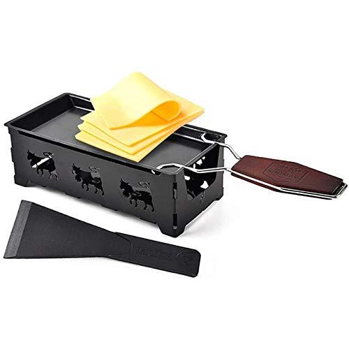 Sartén revestimiento antiadherente Herramienta de la parrilla, bandejas de pastel de pizza, asa de madera de fusión de queso, accesorio de placa de asador antiadherente del horno, herramienta de la pa