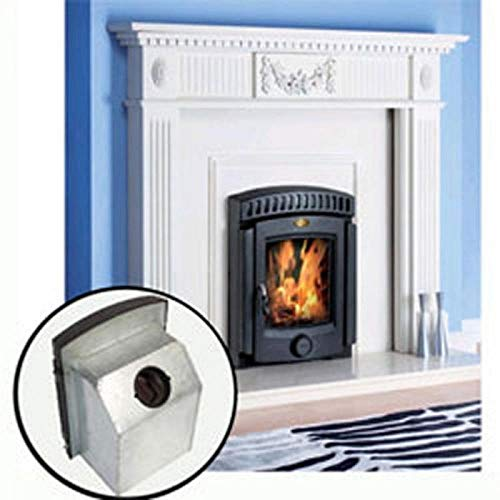 Clarke Beaulieu 5kW Wood Burning Inset Cast Iron Stove - 6909915