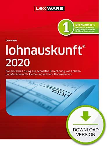 Lohnauskunft 2020 Download Jahresversion (365-Tage) | PC | PC Aktivierungscode per Email