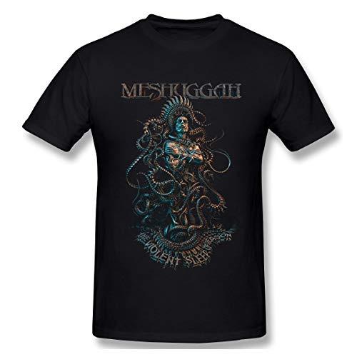Sallyigueroa Herrens Meshuggah The Violent Sleep of Reason Casual Style Farbname T Shirt Mit Herren M